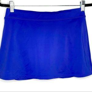 Lands End Royal Blue Tankini Slimming Swim Skit 10